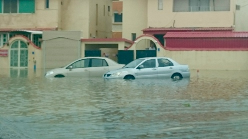 Drowned….vehicles……