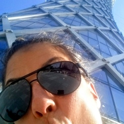 Goofy at the base of the Tornado Tower!!