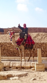 He followed us, continuing to offer a camel ride!!!!!!!!