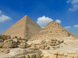 The True Pyramid is the Pyramid of Queen Henutesen - 4th Dynasty - 2551 - 2528 B.C.