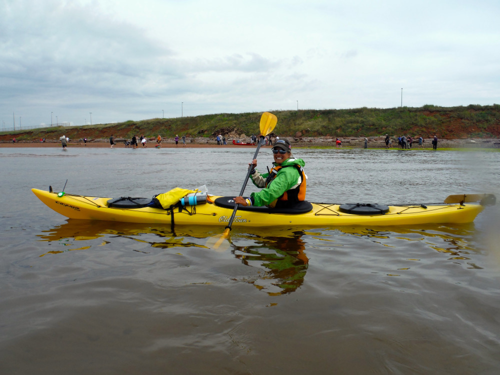 Big Swim - 17km and 7 Hours Later across the Northumberland Straight