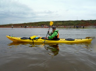 Big Swim 2014 – 17 kms, and 7 hours later ….Emma and I make it to Prince Edward Island!!