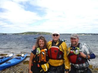 Singer James Taylor and I after kayaking together!!