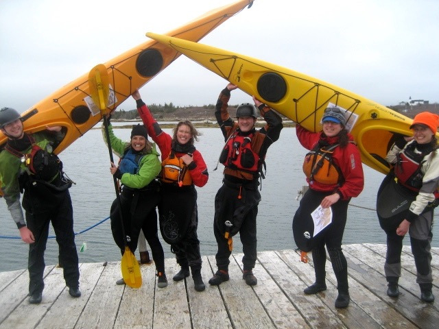 May 19, 2014 - Paddle to Betty Island - My kayaking friends!!! Karl, me, Eleanor, Peter, Lyse and Erin!!!