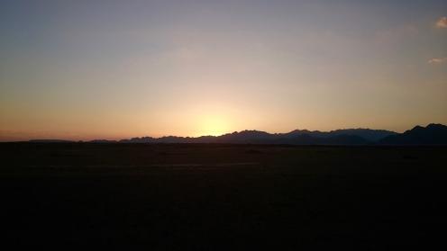 Sunset.....