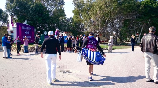 On the way to the 10th Hole!!