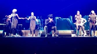 Jazzi B. starting to sing Jazzie's Groove!!!!