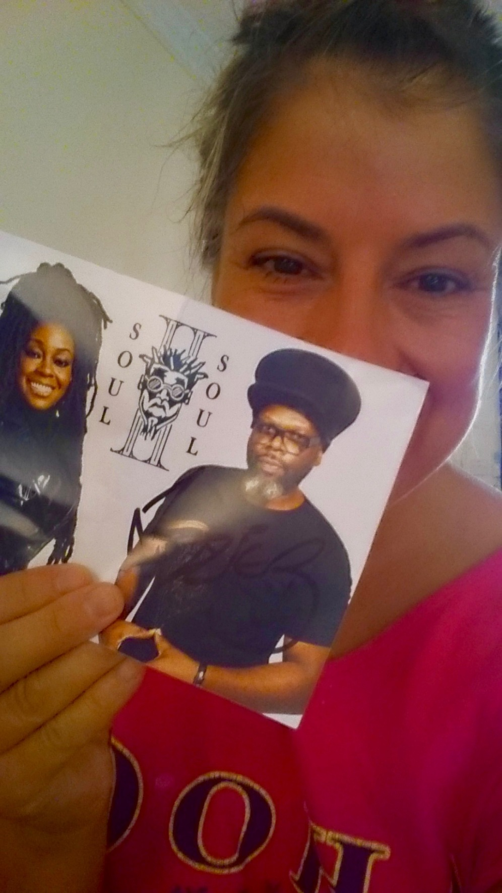 My autographed picture given to me during the Soul II Soul concert from Jazzi B.!!!!!