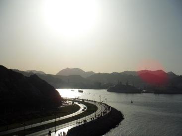 The view of the Corniche