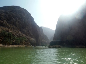 Entering into the Wadi