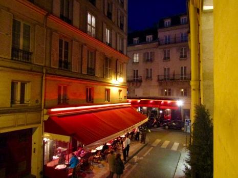 Across the rue..Au Chai de L'Abbaye!!!