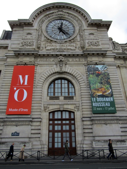 "Entrance to the Musee d""Orsay."