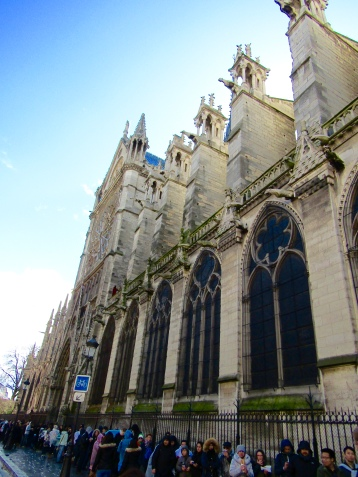 The south side of the cathedral.