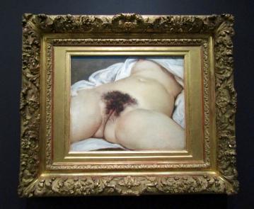 1866 - Gustave Courbet - L'Origine du monde