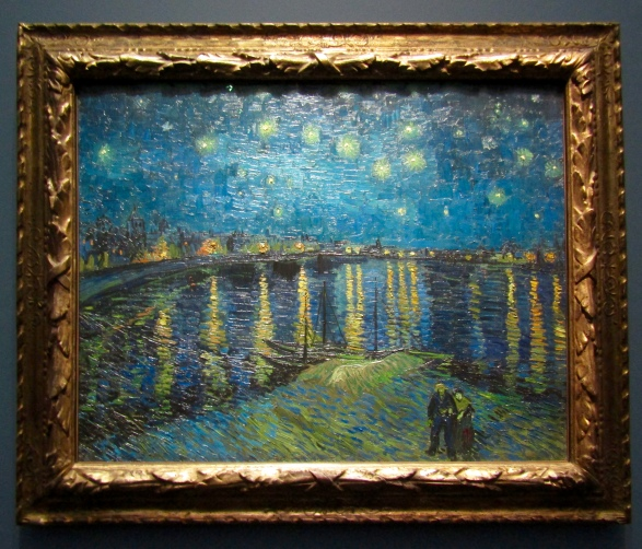 1888 - Van Gogh - Starry Night Over the Rhone