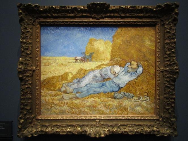 1890 - Van Gogh -Noon - Rest from Work