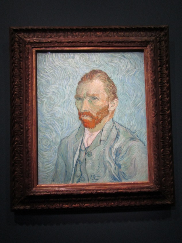 1889 - Van Gogh self-portrait
