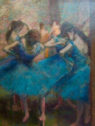 1890 - Edward Degas - Danseuses bleues