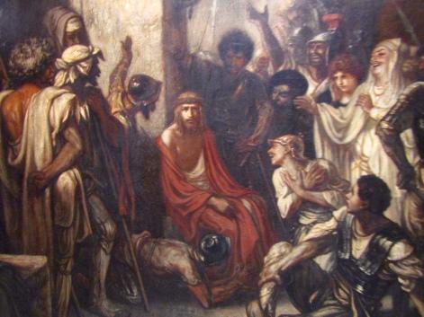 1847 - Gabriel Decamps Le Christ au prétoire