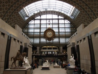 The Musee d'Orsay!!!