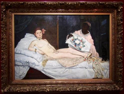 1863 - Edouard Manet - Olympia