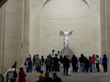 Winged Victory of Samothrace, also called the Nike of Samothrace