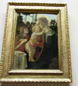 Alessandro di Mariano di Vanni Filipepi, known as Sandro Botticelli - Madonna and Child with St. John the Baptist, c. 1470–1475
