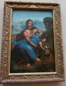 Leonardo da Vinci - The Virgin and Child with St. Anne - 1500 until 1513