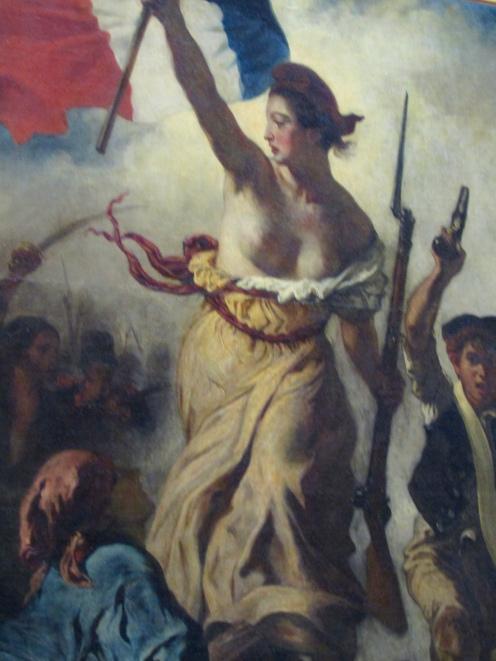 Eugène Delacroix - Liberty Leading the People - 1830