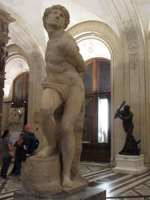Michelangelo - Rebellious Slave - 1513
