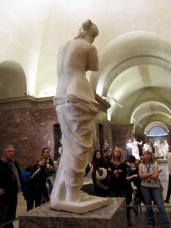 Back of Venus de Milo