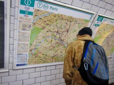 Taking the Metro!!