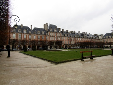 The Place des Vosges is the oldest planned square in Paris and one of the finest in the city. It is located in the Marais district, and it straddles the dividing-line between the 3rd and 4th arrondissements of Paris.