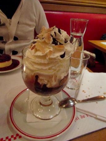 Dessert....chocolate ice cream...