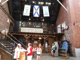 Alexander Keith's Brewery!!!