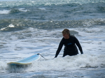 ...and there was NO way I was getting on the board that day!!!!!
