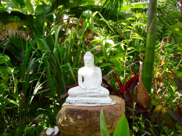Budda in the garden.