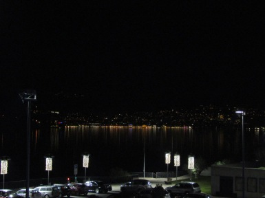 Lugano at night