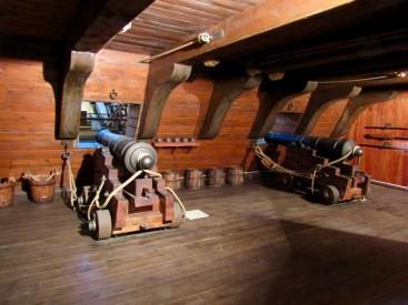 Gun Deck of the EBE Training Ship