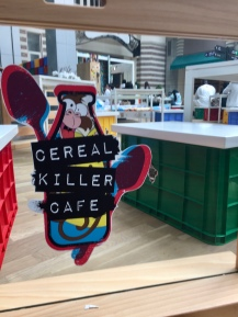 Yup, Cereal Killer Cafe - a cafe that serves bowls of cereal to kids!!!