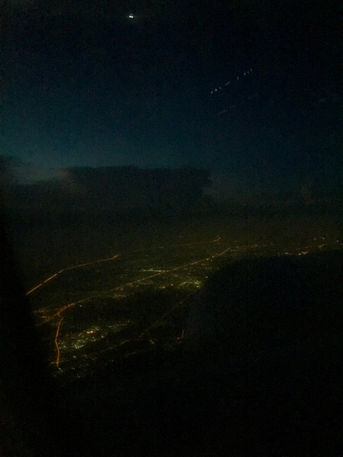 Flying into Bangkok...