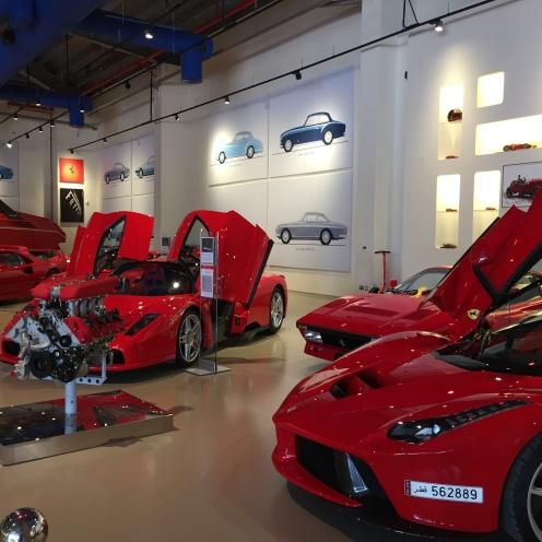 2017 - Al Khor, Qatar - Al-Fardan Private Luxury Car Collection - The Red Ferraris