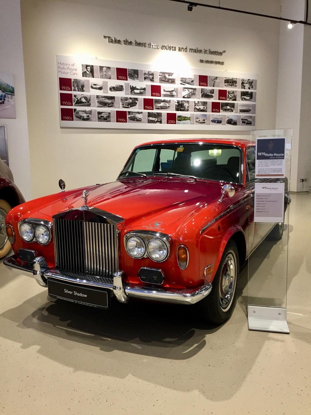 Al Khor, Qatar - Al-Fardan Private Luxury Car Collection - 1976 Rolls-Royce Silver Shadow