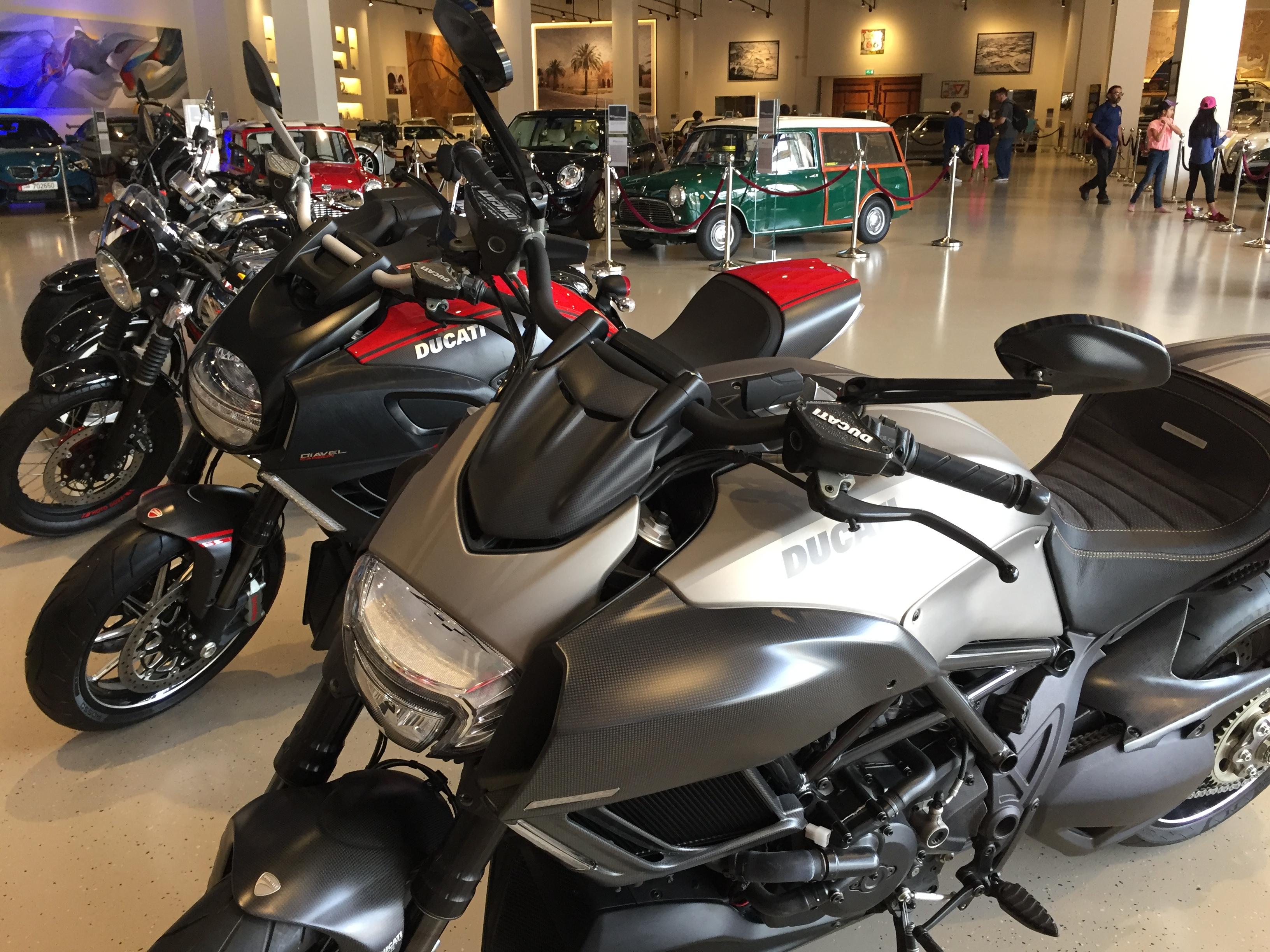 Al Khor, Qatar - Al-Fardan Private Luxury Car Collection - Motorcycle Collection including Ducati and Moto Guzzi