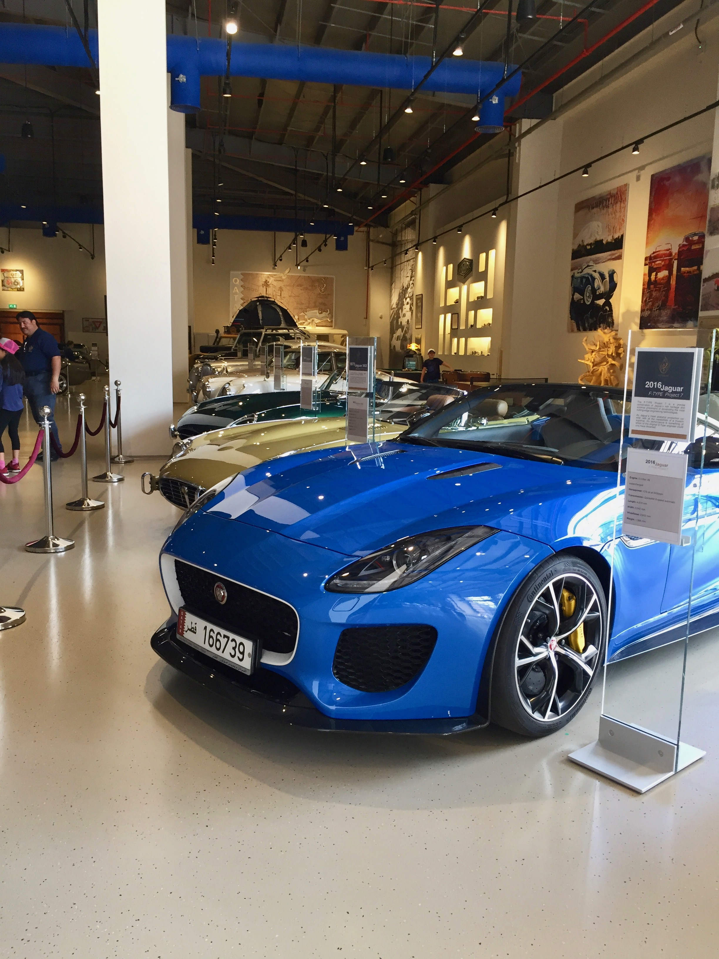 Al Khor, Qatar - Al-Fardan Private Luxury Car Collection - Jaguar Collection