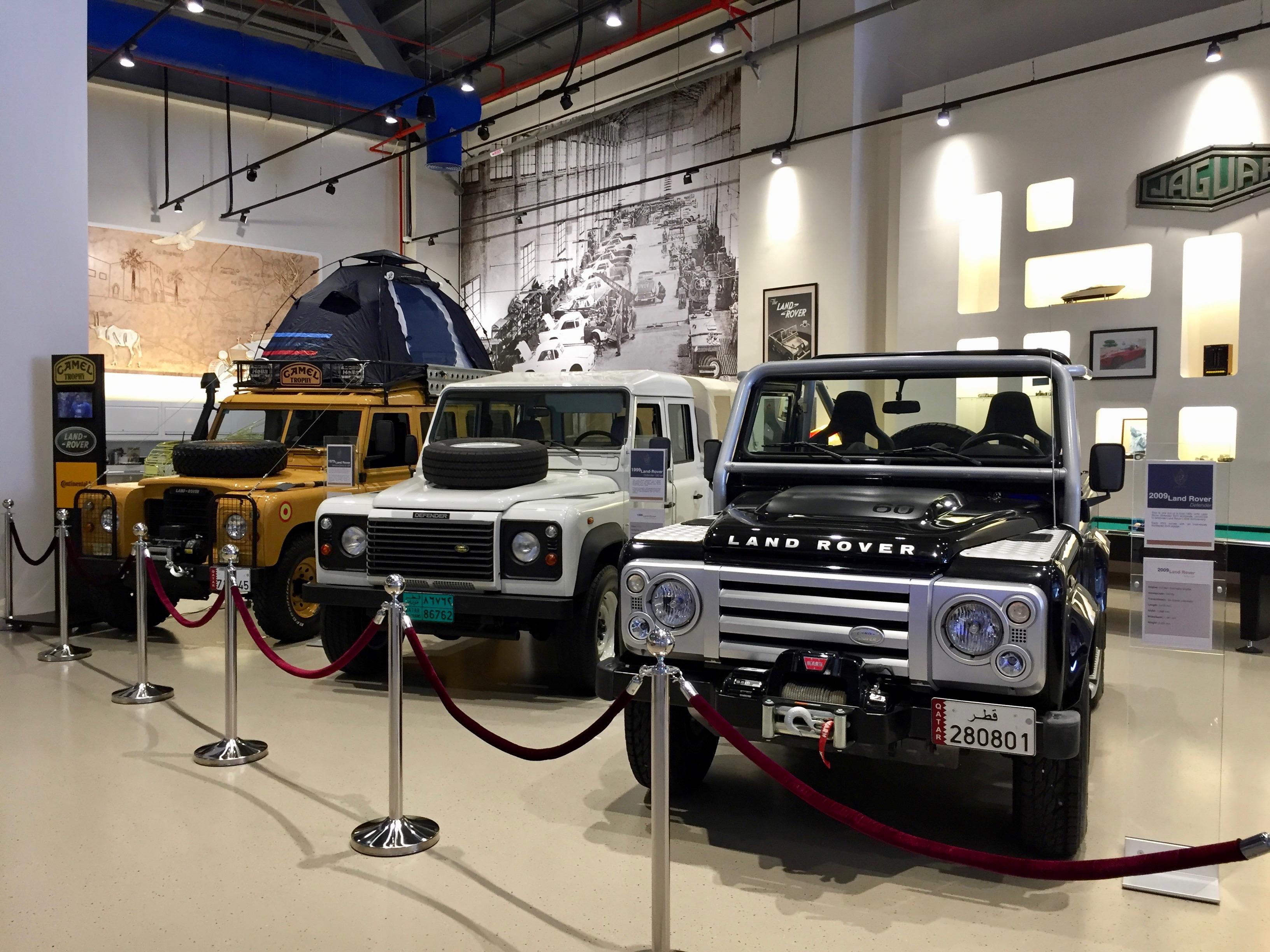 Al Khor, Qatar - Al-Fardan Private Luxury Car Collection - Land Rover Collection
