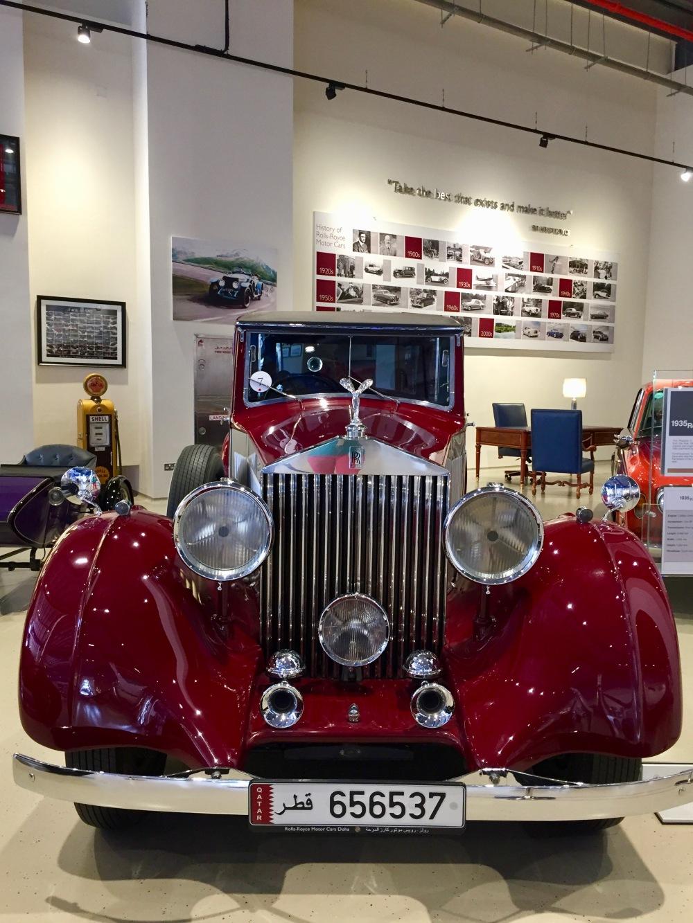 Al Khor, Qatar - Al-Fardan Private Luxury Car Collection - 1935 Rolls-Royce Phantom
