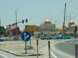 Driving past Katara