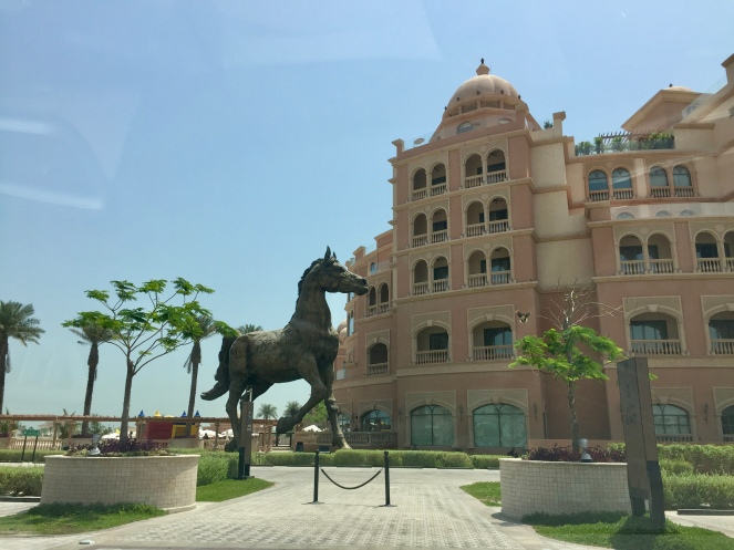The gorgeous horse statue!!!