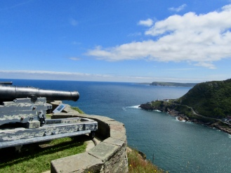 Cannons at the Queens Battery